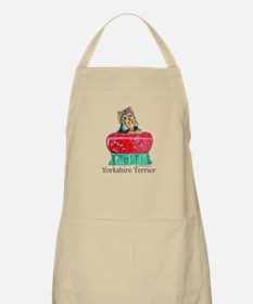 Yorkie Gifts for Yorkshire Terriers BBQ Apron