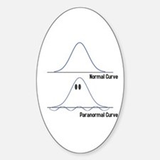 Normal-ParaNormal Sticker (Oval)
