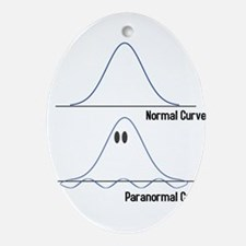 Normal-ParaNormal Oval Ornament