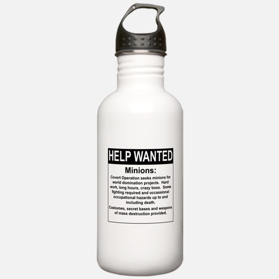 HelpWanted.png Water Bottle