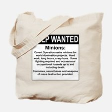 HelpWanted.png Tote Bag