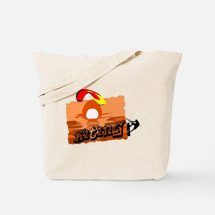 Cute Kiteboard Tote Bag
