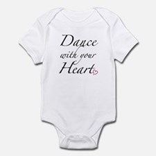 Dance with your Heart Infant Bodysuit