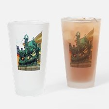 History's Warrior Drinking Glass