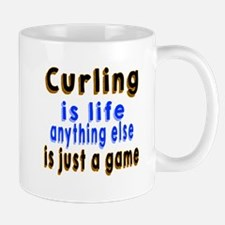 Curling Is Life Anything Else Mug