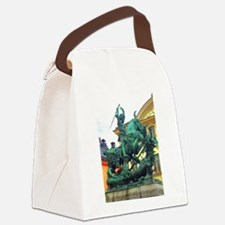 History's Warrior Canvas Lunch Bag