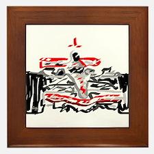 Race car Framed Tile