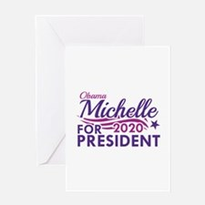 Michelle Obama 2020 Greeting Card