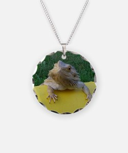 Funny Bearded dragon Necklace