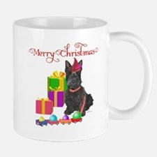 Scottie Christmas Elf Mug