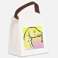 Cute Snakes Canvas Lunch Bag