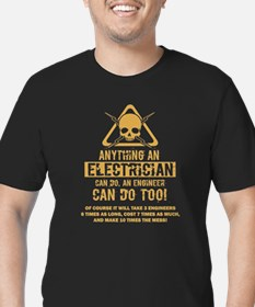 Electrician T-shirt - Anything an electric T-Shirt