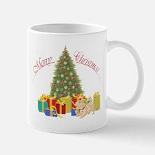 Scottie Dog Christmas Mug