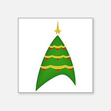 Trekmas tree Sticker