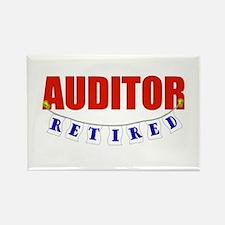 Retired Auditor Rectangle Magnet