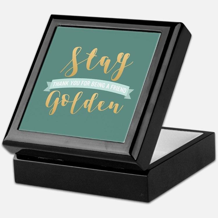 Golden Girls - Stay Golden Keepsake Box