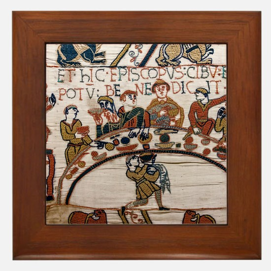 Bayeux Tapestry Framed Tile