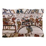 Bayeux tapestry Pillow Cases