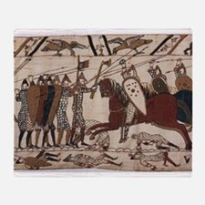 Bayeux Tapestry Throw Blanket