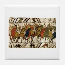 Bayeux Tapestry Tile Coaster