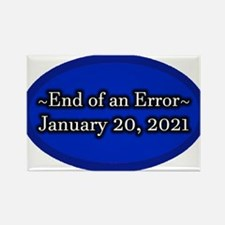 End of an Error January Rectangle Magnet (10 pack)