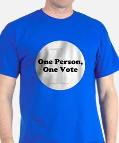 One Person, One Vote T-Shirt