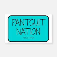 Pantsuit Nation Rectangle Car Magnet