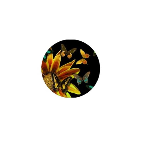 Butterfly Gardens Mini Button (100 pack)