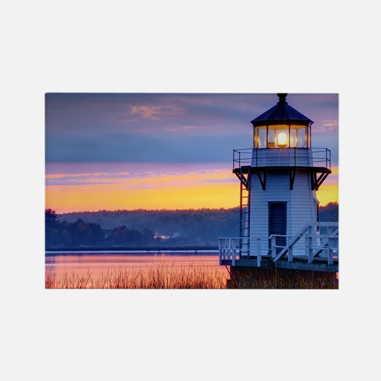 Lighthouse Rectangle Magnet