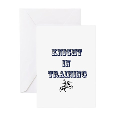 knight in training Greeting Card