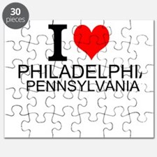 I Love Philadelphia, Pennsylvania Puzzle