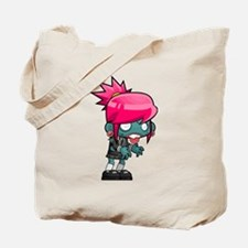 Cute Kid zombie Tote Bag
