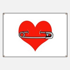Safety Pin for love Banner
