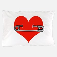 Safety Pin for love Pillow Case