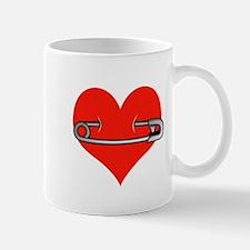 Safety Pin for love Mug