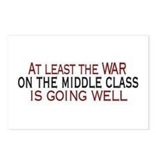 War on Middle Class Postcards (Package of 8)