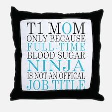 Cute Diabetes Throw Pillow