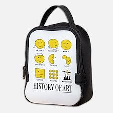 History of Art Smileys Neoprene Lunch Bag