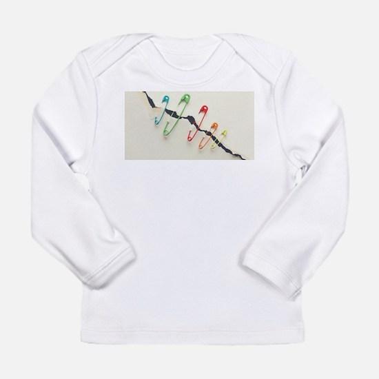 Safety Pin Long Sleeve T-Shirt