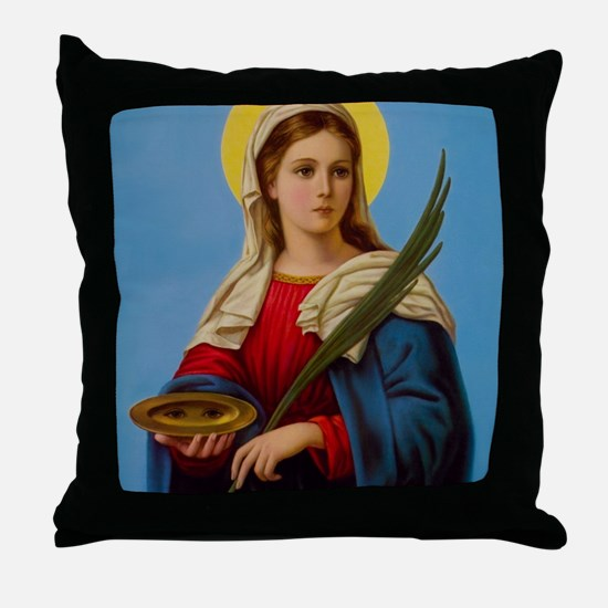 Unique Saint Throw Pillow