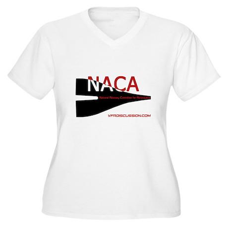 NACA Design Plus Size T-Shirt