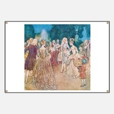 Cinderella and the Prince at the Ball Banner
