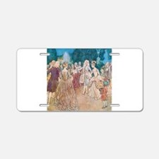 Cinderella and the Prince a Aluminum License Plate