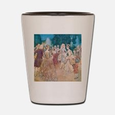 Cinderella and the Prince at the Ball Shot Glass