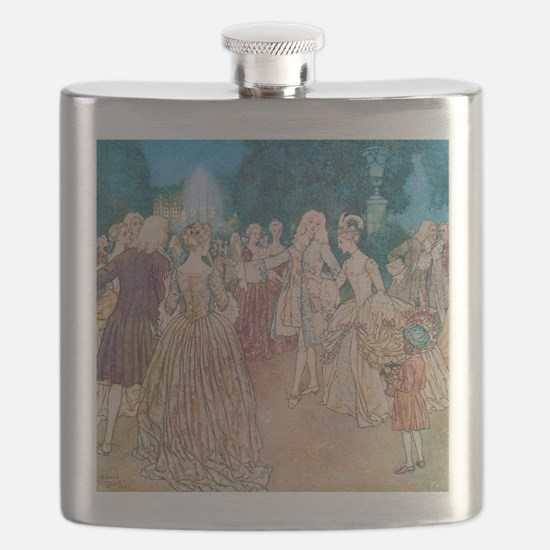Cinderella and the Prince at the Ball Flask