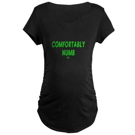 Comfortably Numb Maternity Dark T-Shirt