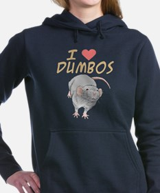 I Heart Dumbos Black Sweatshirt