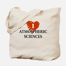 I Love Atmospheric Sciences Tote Bag