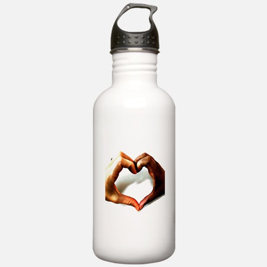 love and justice Water Bottle