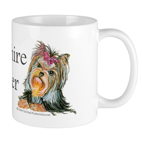 Yorkie Gifts for Yorkshire Terriers Mug